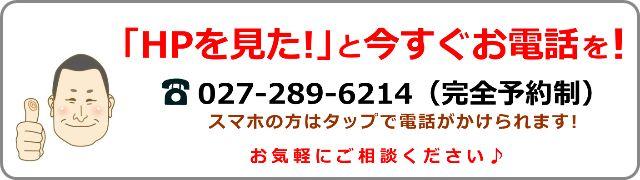 問合せ電話番号 0272896214