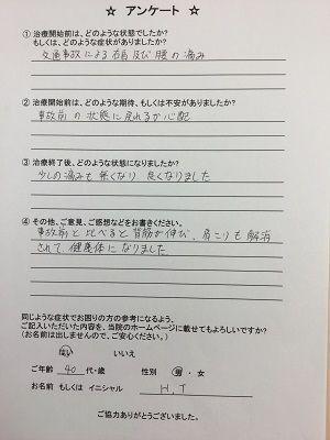 渋川市在住 27歳 男性 H.T様